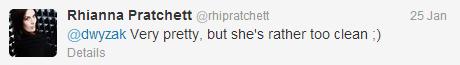 Rhianna tweet 1